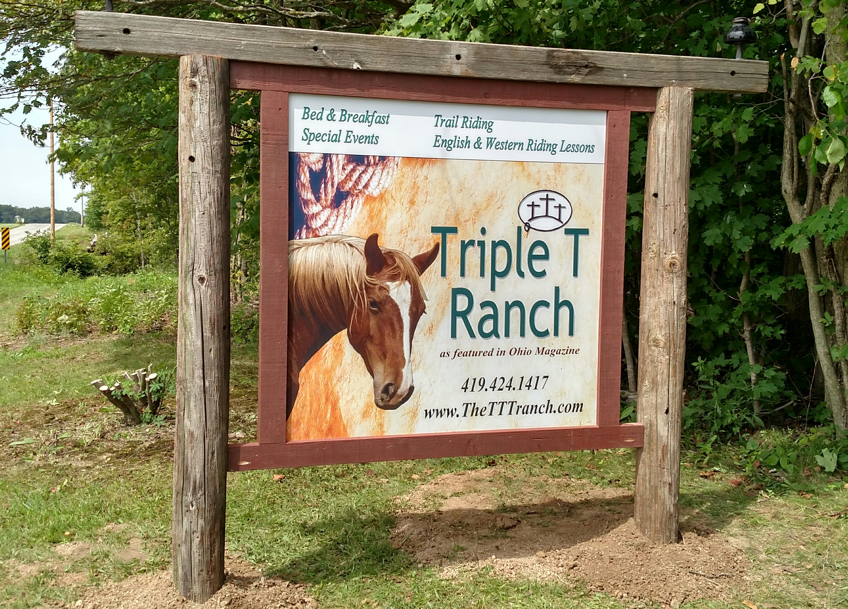 Triple T Ranch, Findlay Ohio