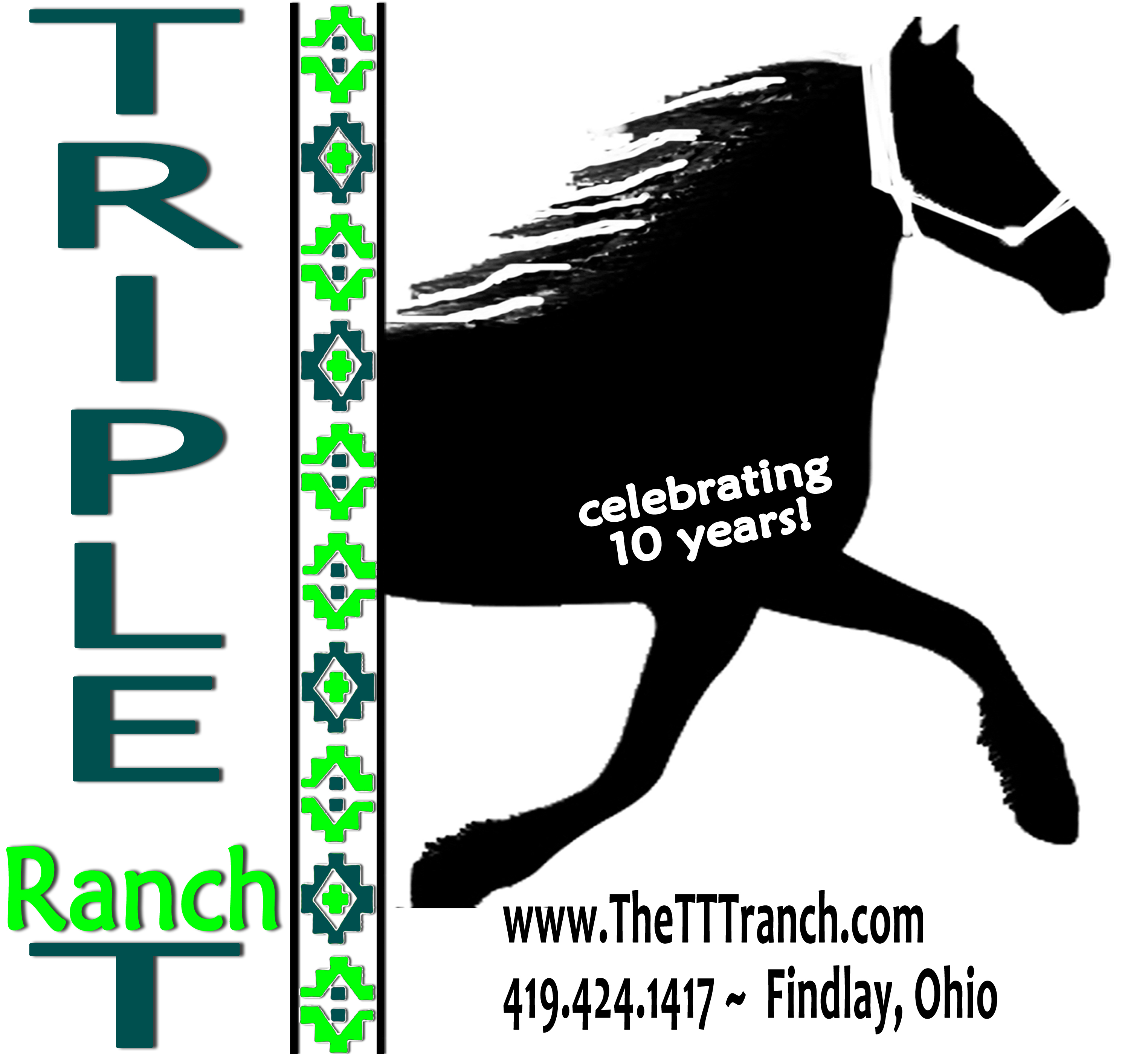 We are celebrating 10 years at the Triple T Ranch!
